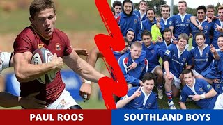 Paul Roos (South Africa) vs Southland Boys (New Zealand)