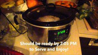 Thanksgiving Butterball Turkey Breast Roast In The Slow Cooker