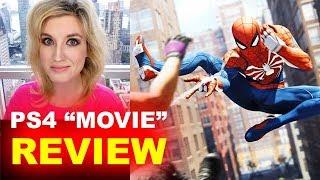 Spider-Man PS4 Cutscenes REVIEW aka Movie