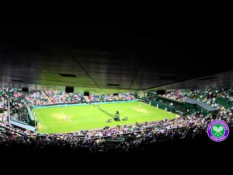 Watch Centre Court at Wimbledon as you've never seen it