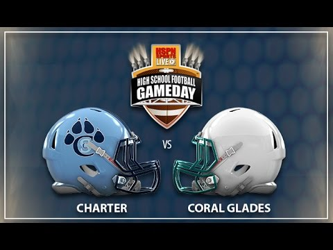 Coral Springs Charter vs Coral Glades - LIVE HIGH SCHOOL FOOTBALL BROADCAST LIVESTREAM