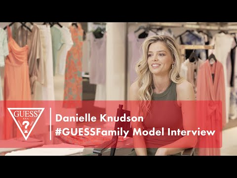 Danielle Knudson #GUESSFamily Model Interview<br><...