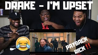 Drake - I'm Upset (Official Music Video) | REACTION