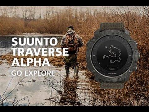 SUUNTO Traverse Alpha - Наручный компьютер для экстримальных условий