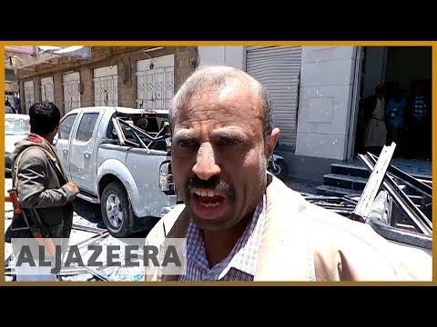 🇾🇪 Yemen: Saudi-led attack hits Houthi-held presidential palace | Al Jazeera English