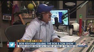 """Bob Kevoian leaving the """"Bob & Tom Show"""""""