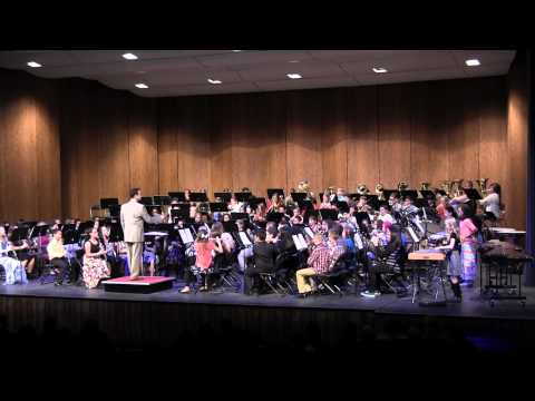 6th grade Band Concert January 2015 Jewel and Herget Middle Schools