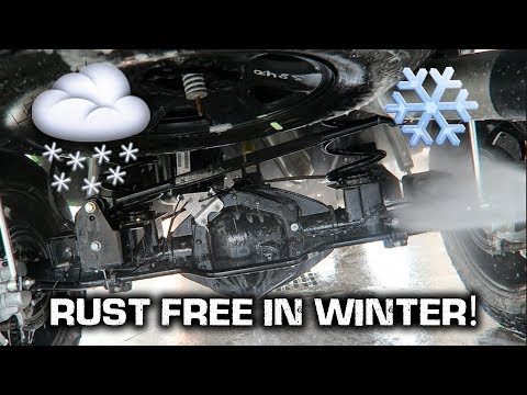How to Keep Your Car/Truck RUST FREE!!