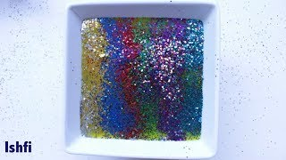 Slime & Colourful Glitter with Pop Goes the Weasel Nursery Rhymes