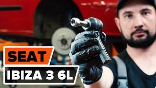 Ako vymeniť guľový čap riadenia na SEAT IBIZA 3 6L [NÁVOD AUTODOC]