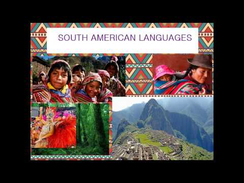 South American languages