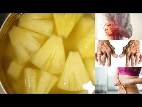 THIS PINEAPPLE WATER WILL DETOXIFY YOUR BODY, HELP YOU LOSE WEIGHT, AND REDUCE JOINT SWELLING AND PA