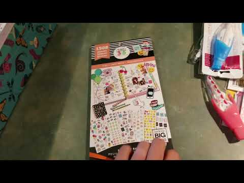 Hobby Lobby & Michaels Clearance Haul ~ Planner/Stationary/Scrapbooking ~ August 2018