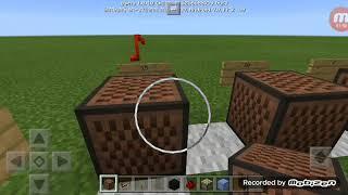 Construir música no Minecraft