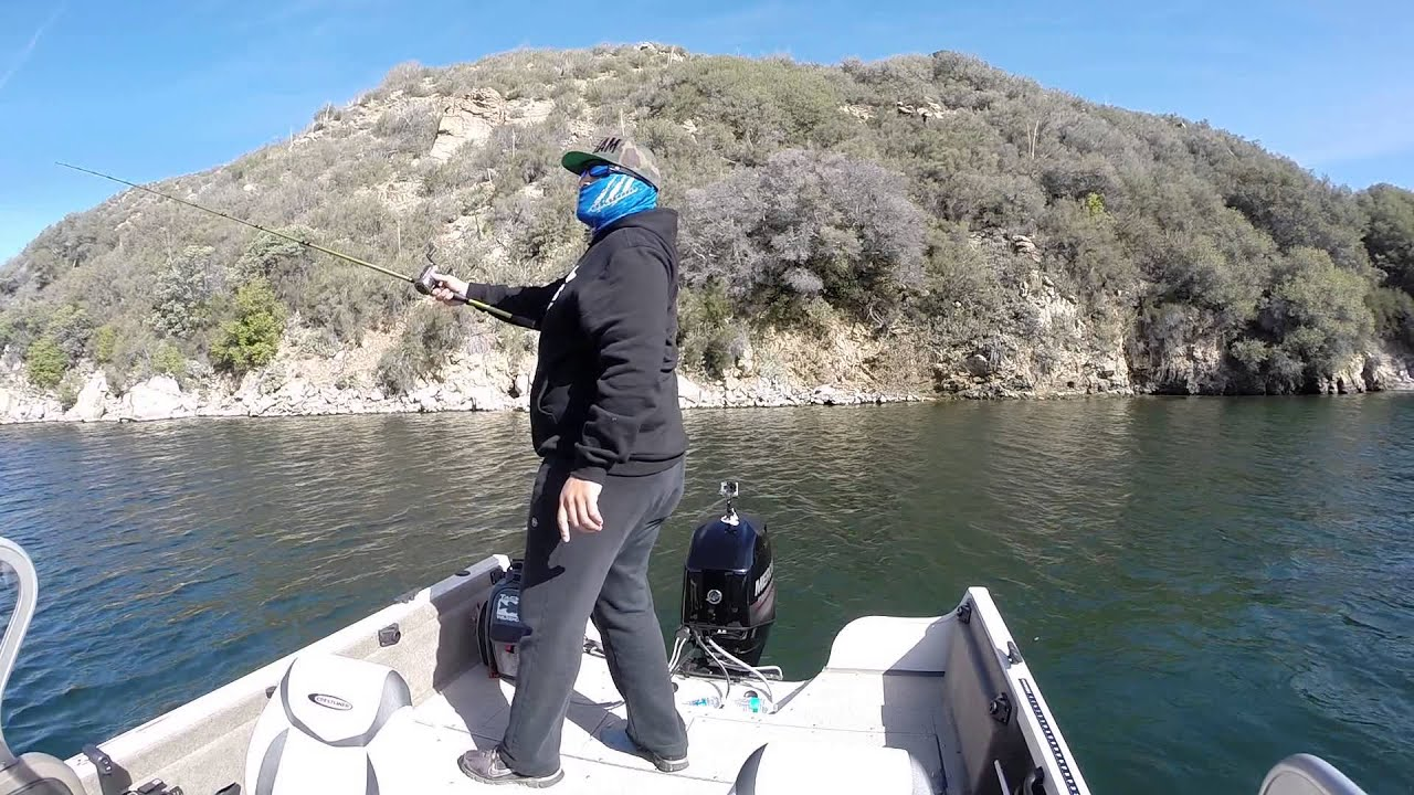 Silverwood lake lmb fishing youtube for Silverwood lake fishing report