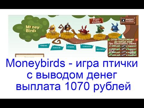 заработок птицы игра с выводом денег