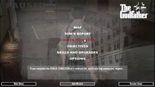 The Godfather 100% complete stats