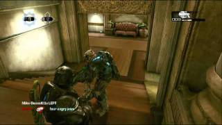 Gears of War 3 - Guy Goes Rage Mode! (HILARIOUS!)