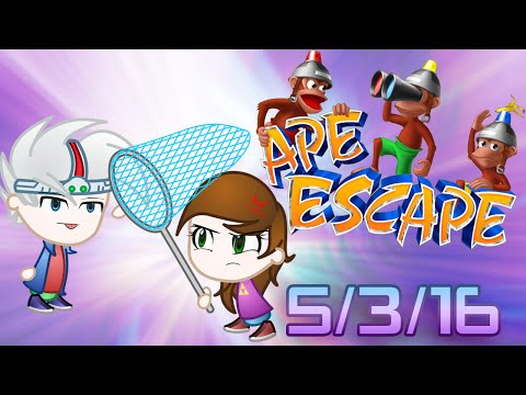 Ape Escape Stream Part 2: Peak-Point Rage (5/03/16)
