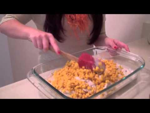 chicken bake casserole youtube. Black Bedroom Furniture Sets. Home Design Ideas