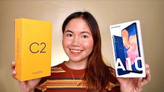 REALME C2 VS. SAMSUNG GALAXY A10 QUICK COMPARISON VIDEO