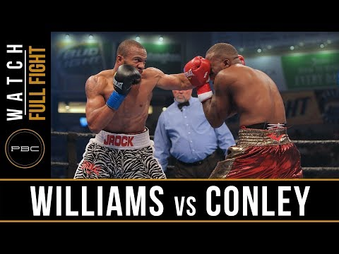 Williams vs Conley FULL FIGHT: June 30, 2017 - PBC on Bounce