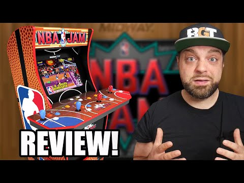NBA Jam Arcade1UP REVIEW - The BEST Arcade Yet? from RGT 85