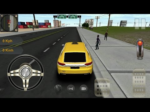Taxi Driving 3D Android Gameplay