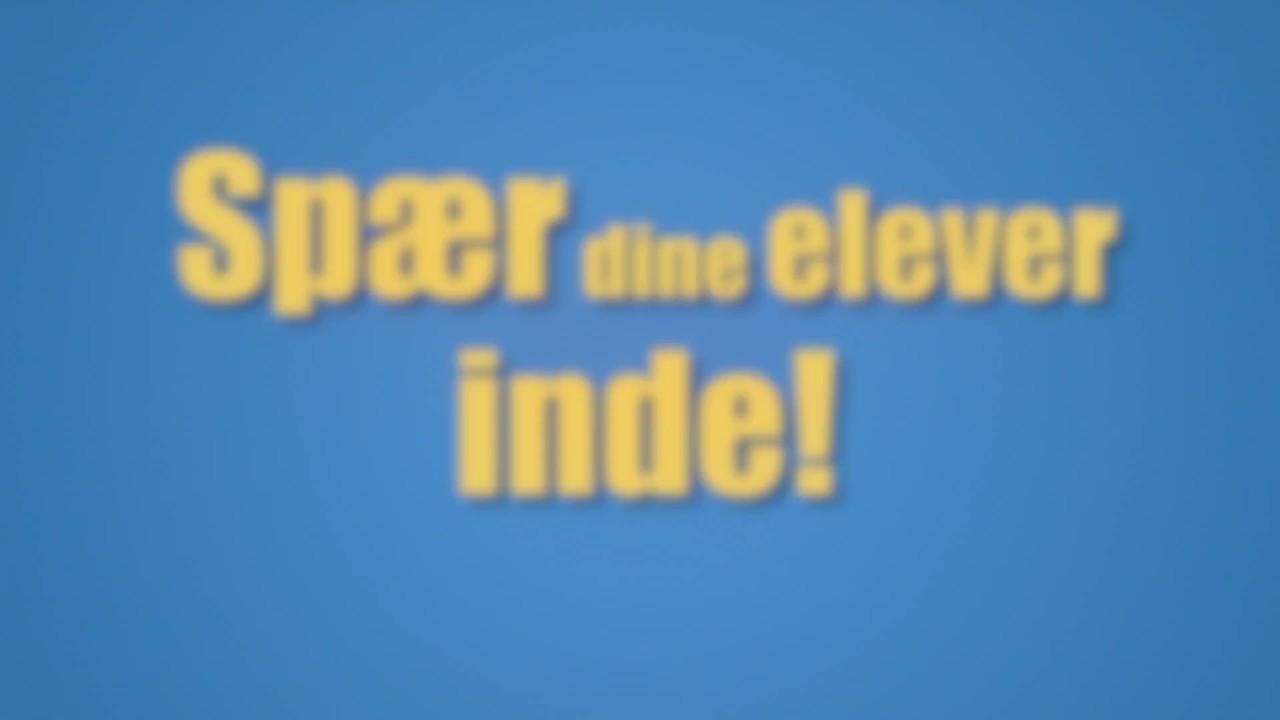 Garderhøjfortets matematikmyster reklame kort
