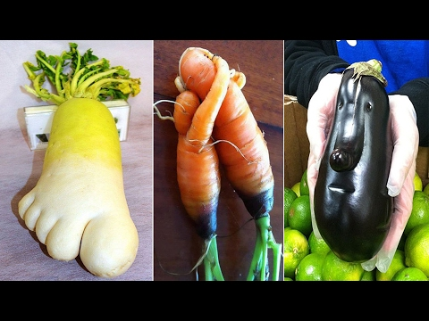 Thumbnail: Unusually Shaped Fruits and Vegetables