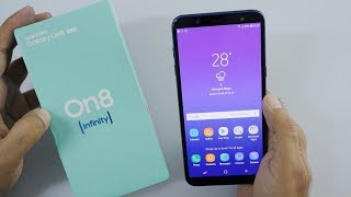 Samsung Galaxy On8 Unboxing & Overview with Camera Samples