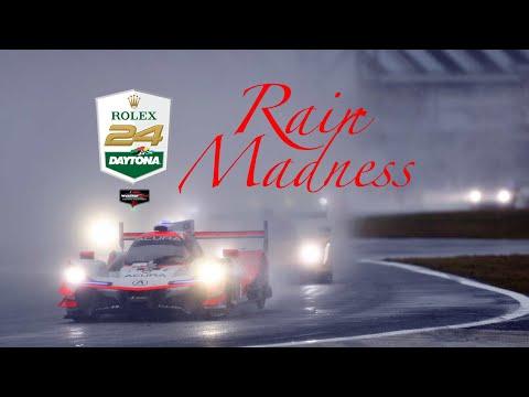 Rolex 24h Daytona 2019 Rain MADNESS | Last minutes before 2nd Red Flag