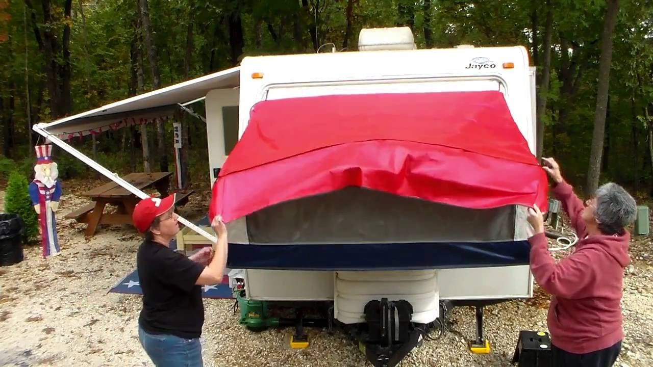 How To Shut The Bunks On A Hybrid Camper Easy Way