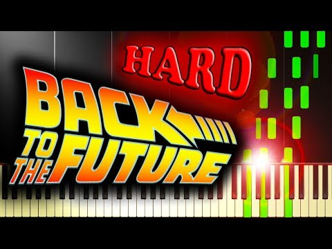 BACK TO THE FUTURE  THEME  Piano Tutorial