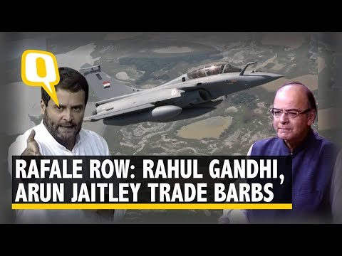 Rafale Row: Arun Jaitley and Rahul Gandhi Train Guns in Lok Sabha