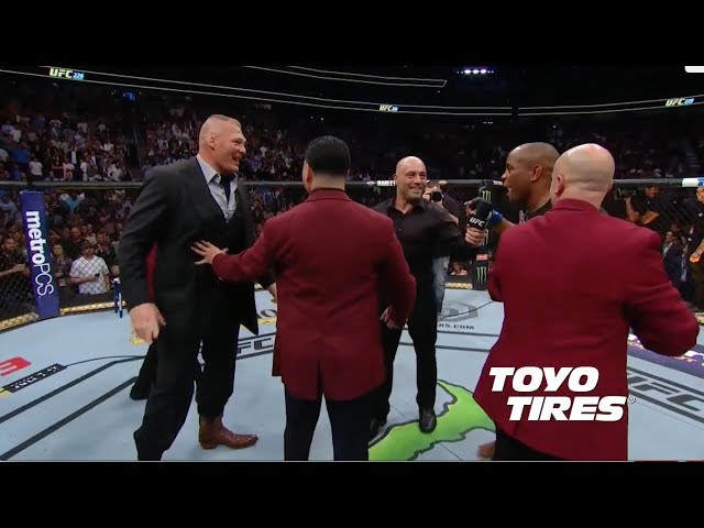 UFC 226: Daniel Cormier and Brock Lesnar Octagon Interviews