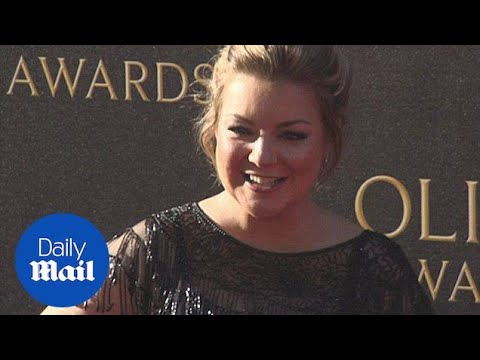 All smiles: Sheridan Smith looks glam at The Olivier Awards in April - Daily Mail thumbnail