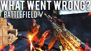 What went wrong Battlefield 5