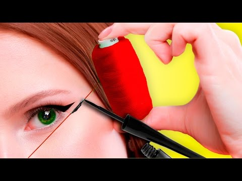 Глянцевый макияж на кремовых текстурах. Видео урок макияжа.