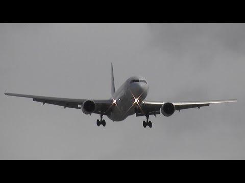 [FullHD] *EPIC CROSSWIND LANDING!* EuroAtlantic B767-300 - CS-TLO - landing Bremen Airport