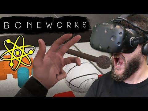 Najbardziej Zaawansowana Gra Na VR - BONEWORKS (HTC VIVE VR)