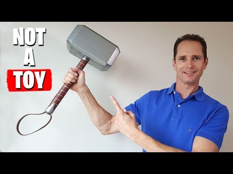 REAL Thor Hammer - Awesome DIY Build