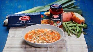 Barilla Sg - Minestrone Soup With Spaghetti Napoletana