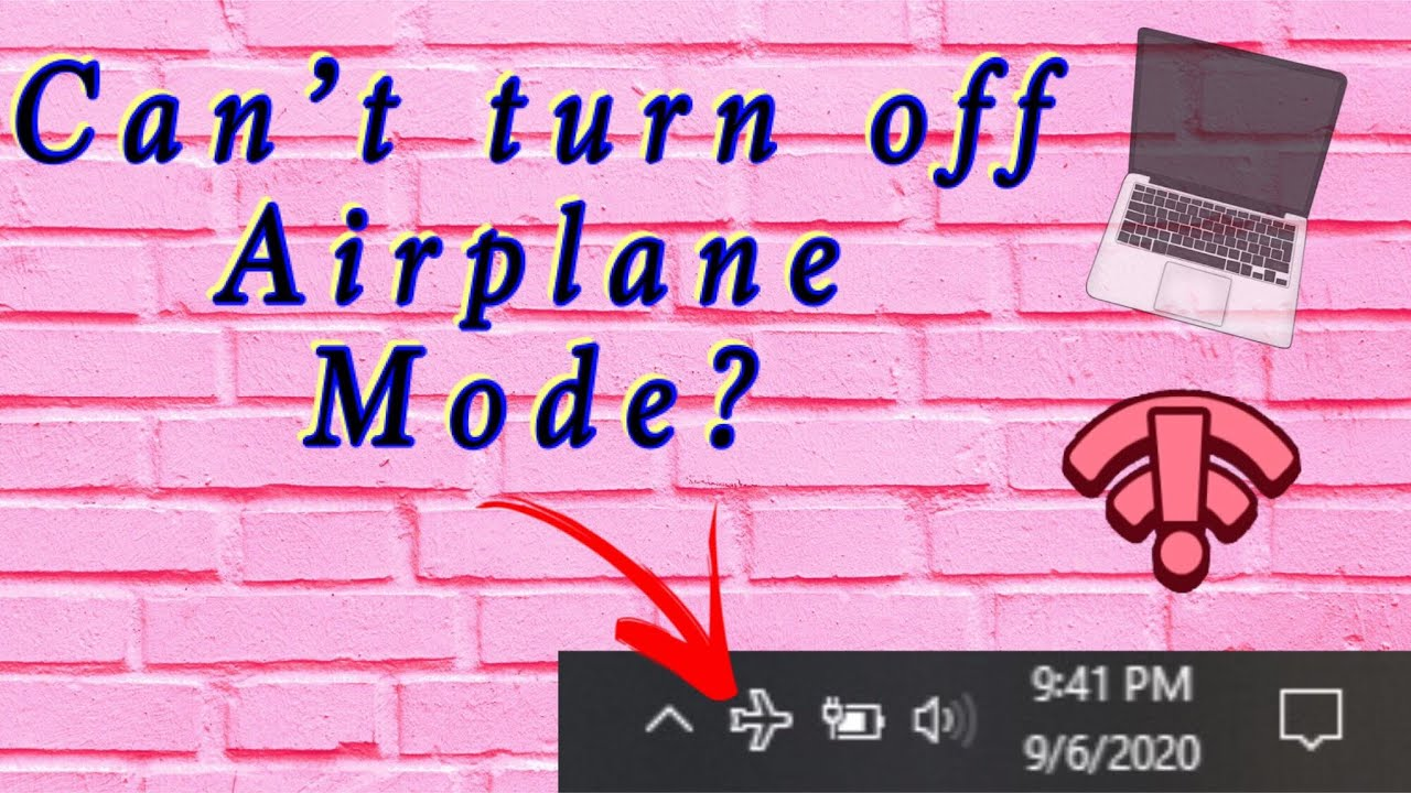 How to fix Airplane Mode on Windows 10 | DELL Laptop - YouTube
