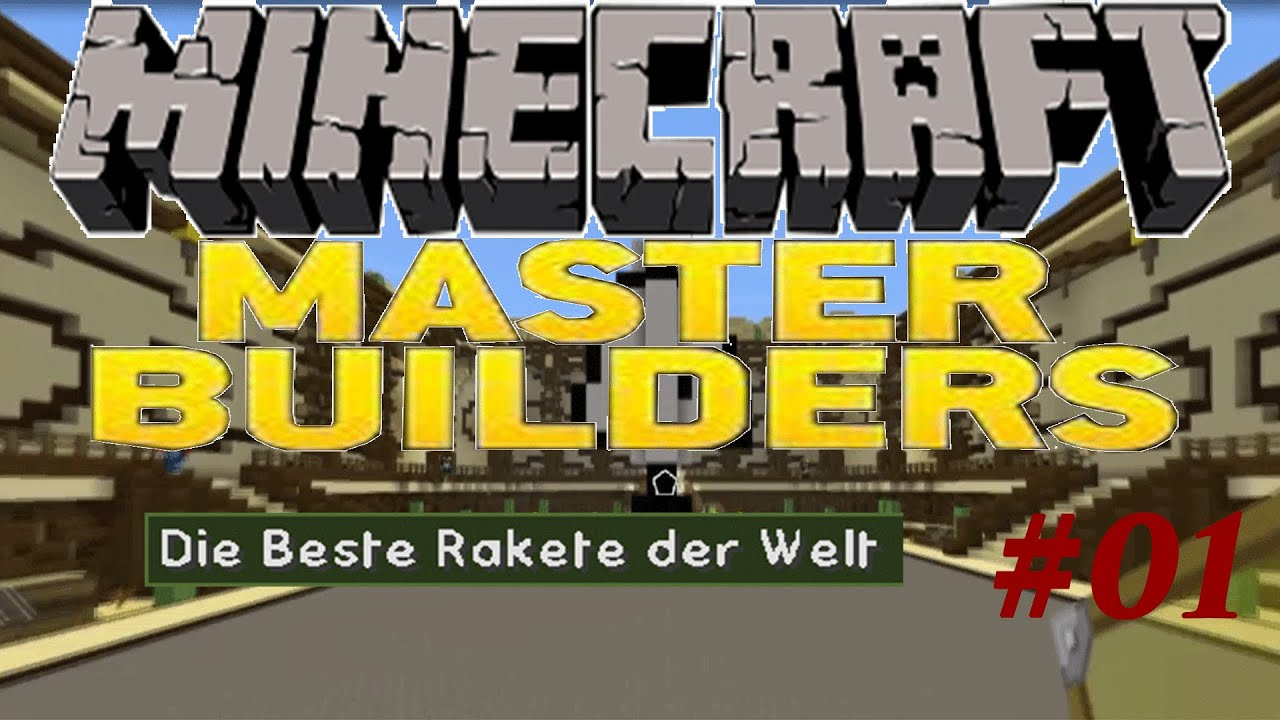 die beste rakete der welt minecraft masterbuilder 01 by gummilps youtube. Black Bedroom Furniture Sets. Home Design Ideas