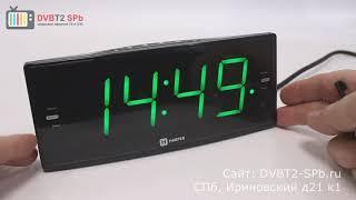 Harper HCLK-2044 - обзор электронных часов  с радиоприёмником
