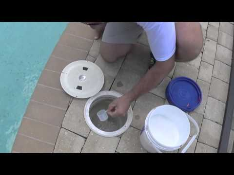 How To Add Cyanuric Acid (Stabilizer) To The Pool | By Waterdrop Pools (Naples, Florida)