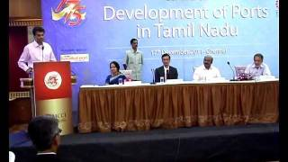 MCCI Seminar on Development of Ports in TamilNadu Part-5/5