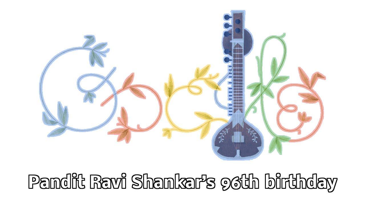 The Beatles Polska: Google uczciła urodziny Raviego Shankara