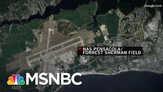 At Least 1 Killed, Suspect Dead In Shooting At Naval Base In Pensacola, FLA   Velshi & Ruhle   MSNBC